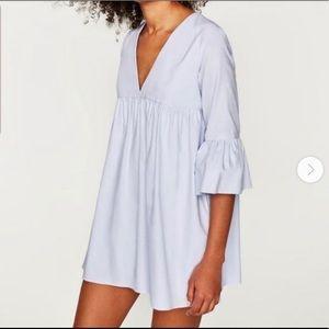 Trafaluc Bell Sleeve Dress